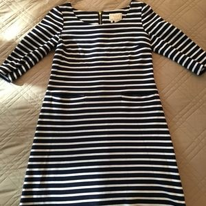 Kate Spade Breton striped shift dress