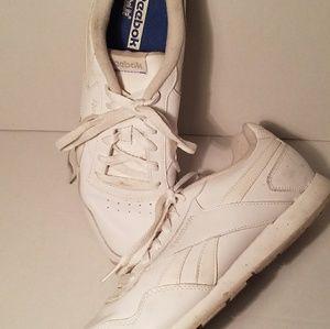 Reebok white *Princess* style tennis shoes sz 10