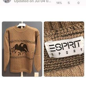 Vtg Esprit Americana Sweater