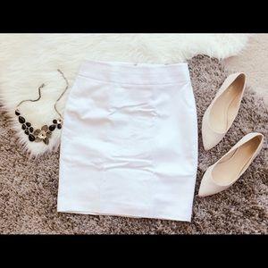 Banana Republic Skinny Skirt - White - 00P