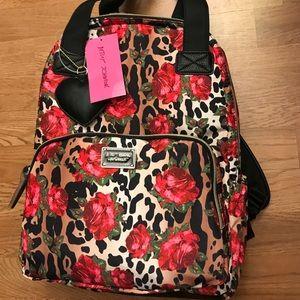 Betsey Johnson Roses Backpack