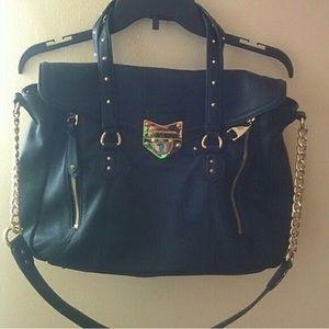 Rebecca minkoff crossbody purse satchel with chain