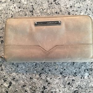 Rebecca Minkoff Grey Leather Wallet