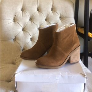 New Steve Madden ankle boots suede leather brown