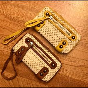 Linea Pelle Women's zip wallet
