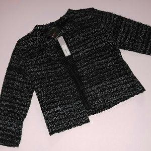 NWT APT. 9 open cardigan sweater jacket M