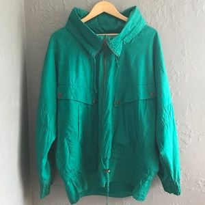 Vintage Mulberry Street Green Jacket