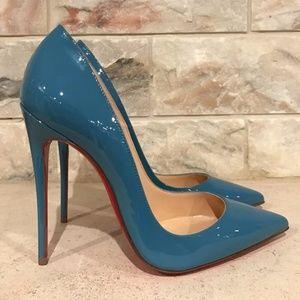 Christian Louboutin So Kate 120 Blue Celeste