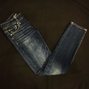 American Eagle Short Skinny Jeans