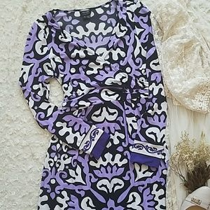 Nicole by Nicole Miller Stunning Purple Dress