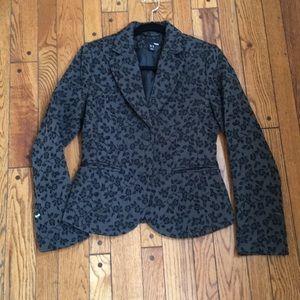 Baroque black blazer