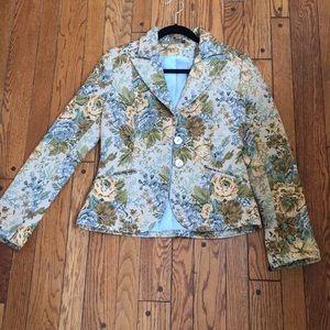 Braque floral blazer