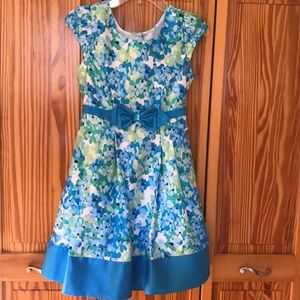 Other - Colorful formal dress. Girls size 8