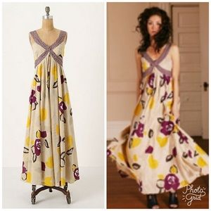 Botanical Crossway dress by Moulinette Soeurs
