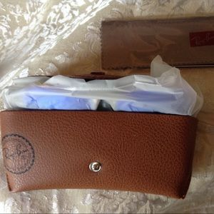 Ray ban mirror blue Size 58
