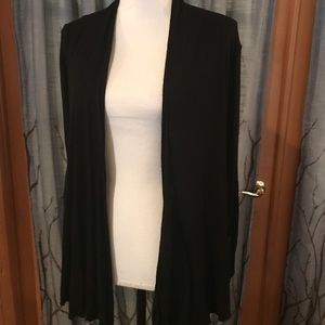 NWOT UO Pins and Needles S black open cardigan