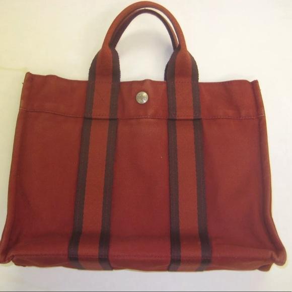 122a48d6c5a Hermes Bags   Herms Fourre Tout Pm Tote Bag Satchel Canvas   Poshmark
