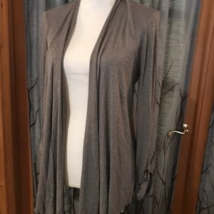 NWOT UO Pins and Needles small heather gray cardio