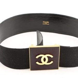 ecff2189850 CHANEL Accessories   Big Buckle Double Cs Belt   Poshmark