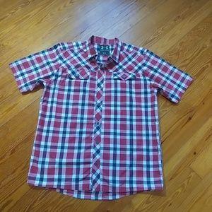 Under Armour plaid shirt