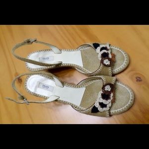 Prada Sandals size 7.5