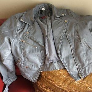 H&M Moto jacket sz 12