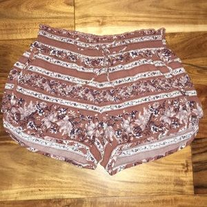 American Eagle Floral Soft Shorts