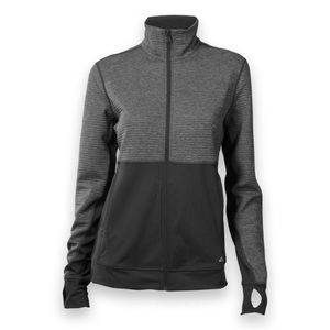 Adidas full zip medium weight jacket