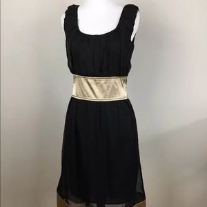 Young Essence Black Cocktail Dress Size S Party