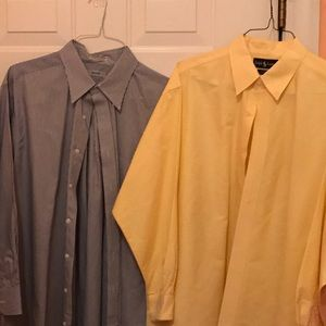 Other - Set of two dress shirts from dry cleaner