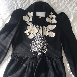Anthropologie Leifsdottir black sweater
