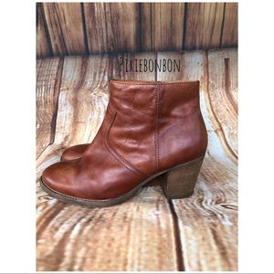 Madewell 1937 Leather Booties