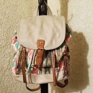 Jessica Simpson drawstring backpack purse