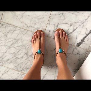 Dolce Vita Turquoise Sandals