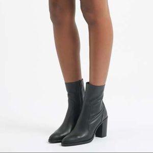 Shoes - Block heel ankle booties