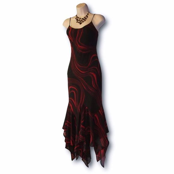 Ynes Dresses   New Handkerchief Hem Argentine Tango Dress   Poshmark