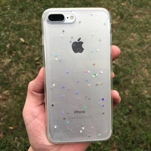 Iphone 7+ Holographic Star Case