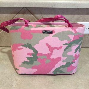 NWOT Pink Camo Kate Spade Purse