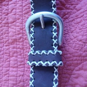 Express jeans leather belt SZ 34 $15 + free gifts