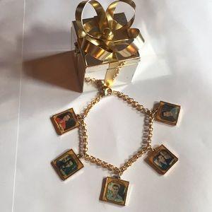 N'SYNC Vtg 90's charm bracelet Justin Timberlake