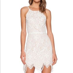For Love and Lemons White Guava Dress