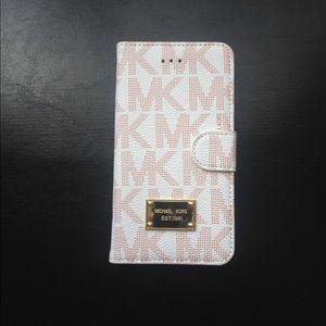 New MK Flip Case Wallet for iPhone 7PLUS