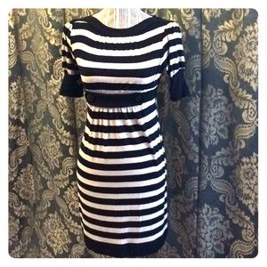 Fitted stripped dress