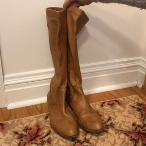 Frye leather slouch boots