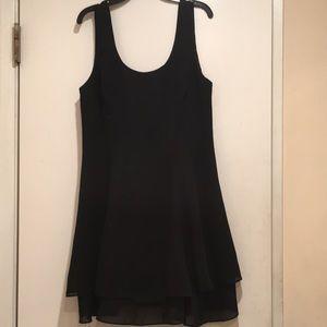 Dresses & Skirts - Black 2 layer flare dress