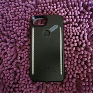 LUMEE DUO IPHONE 6/6s/7/8 CASE NO BOX BLACK