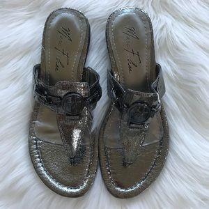 6c43b592d8c Marc Fisher Shoes - NWOT Marc Fisher Amina Thong Sandal Size 7.5