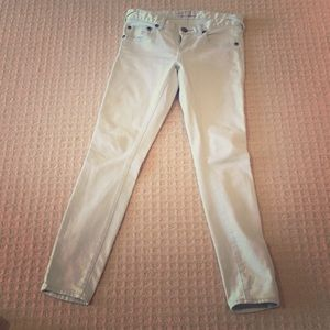 Mint colored jeans!