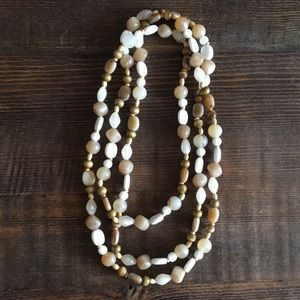 Jewelry - Handmade Earthy beaded necklace