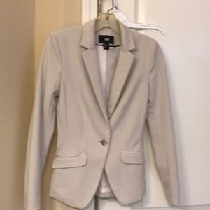 Cotton fabric blazer - perfect throw on